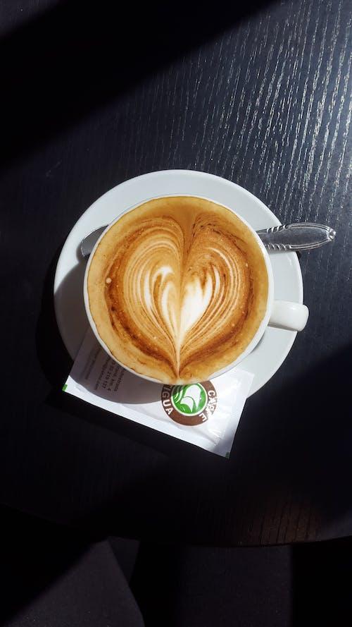 Kostnadsfri bild av cappuccino, dryck, kaffe, koffein
