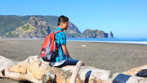plaj, seyahat, tatil içeren Ücretsiz stok fotoğraf