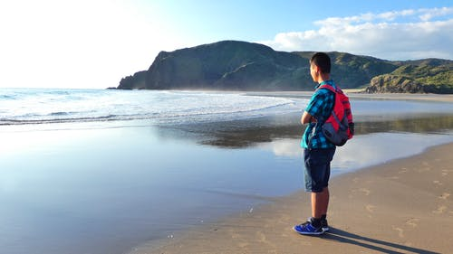 plaj, tatil içeren Ücretsiz stok fotoğraf