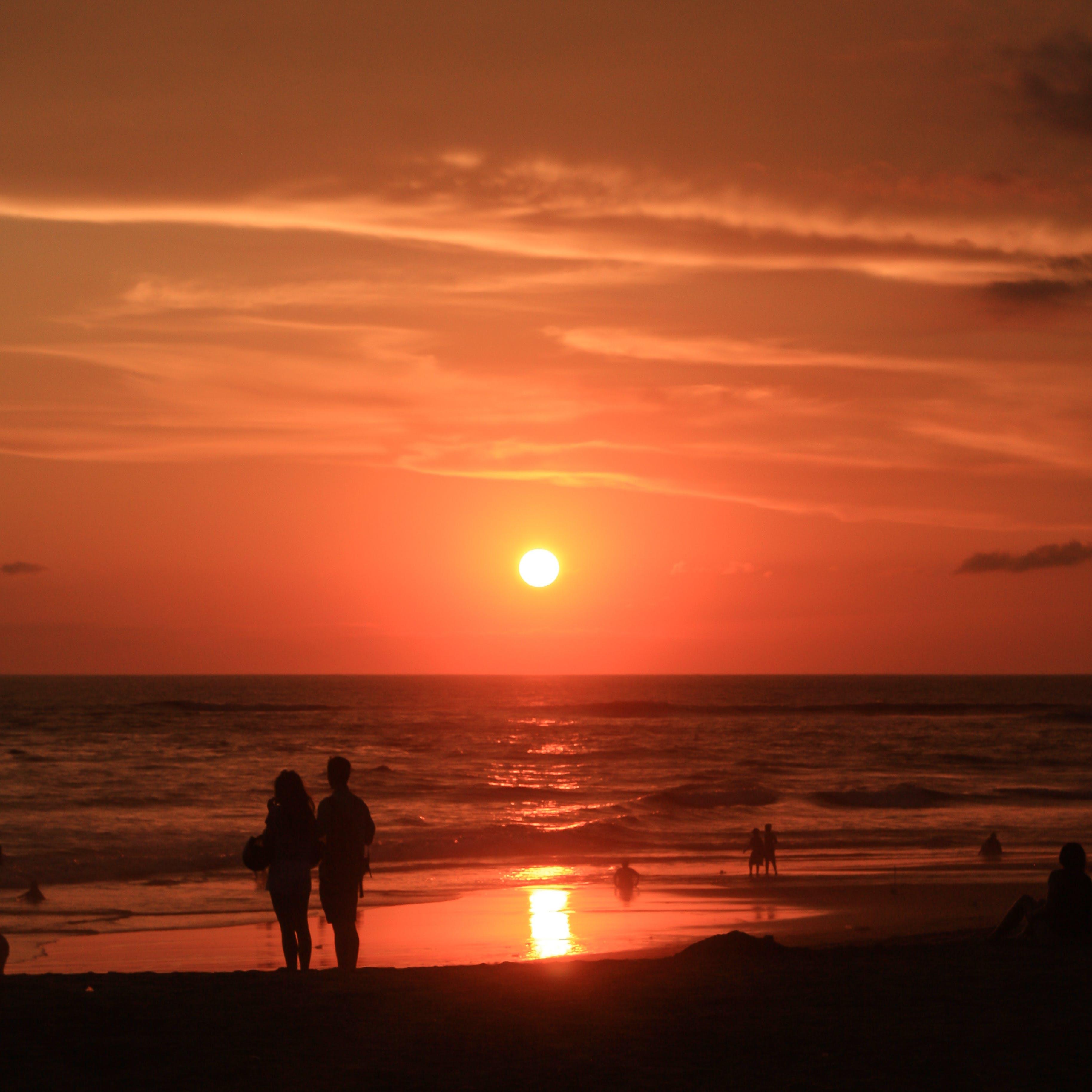 Free stock photo of bali, beach, clouds, orange