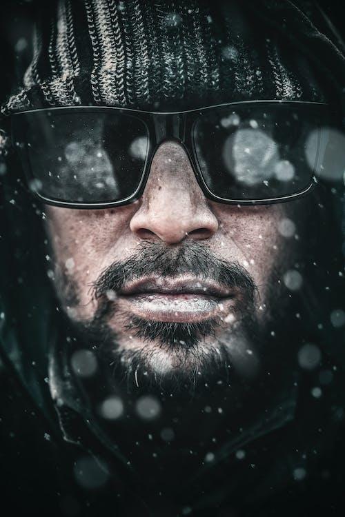 Man Wearing Black Sunglasses