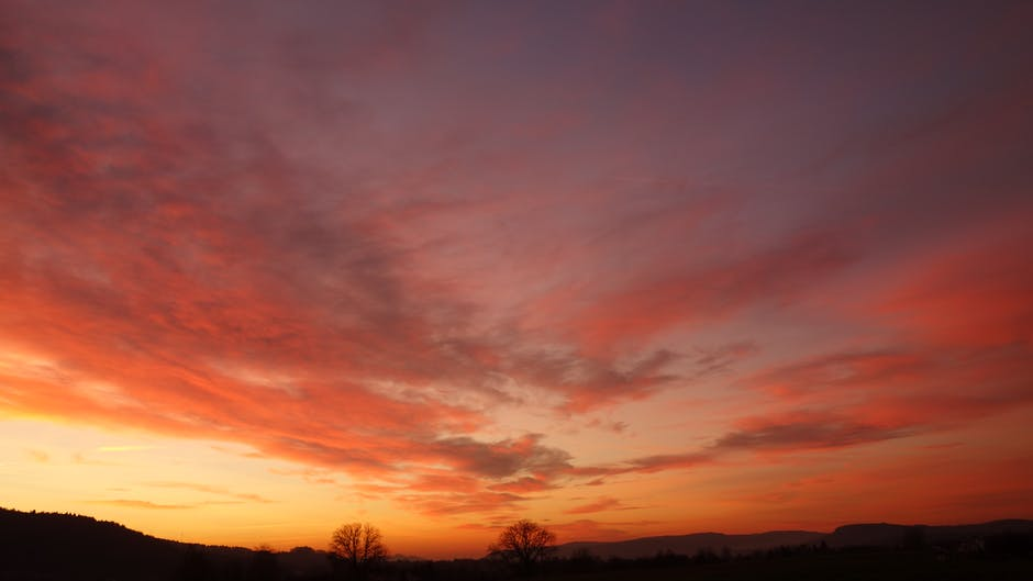Clouds dawn dusk hd wallpaper