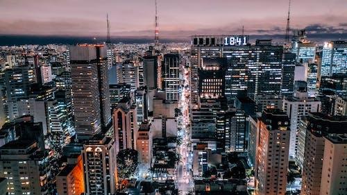 คลังภาพถ่ายฟรี ของ ตัวเมือง, ตึก, ตึกระฟ้า, ทิวทัศน์เมือง