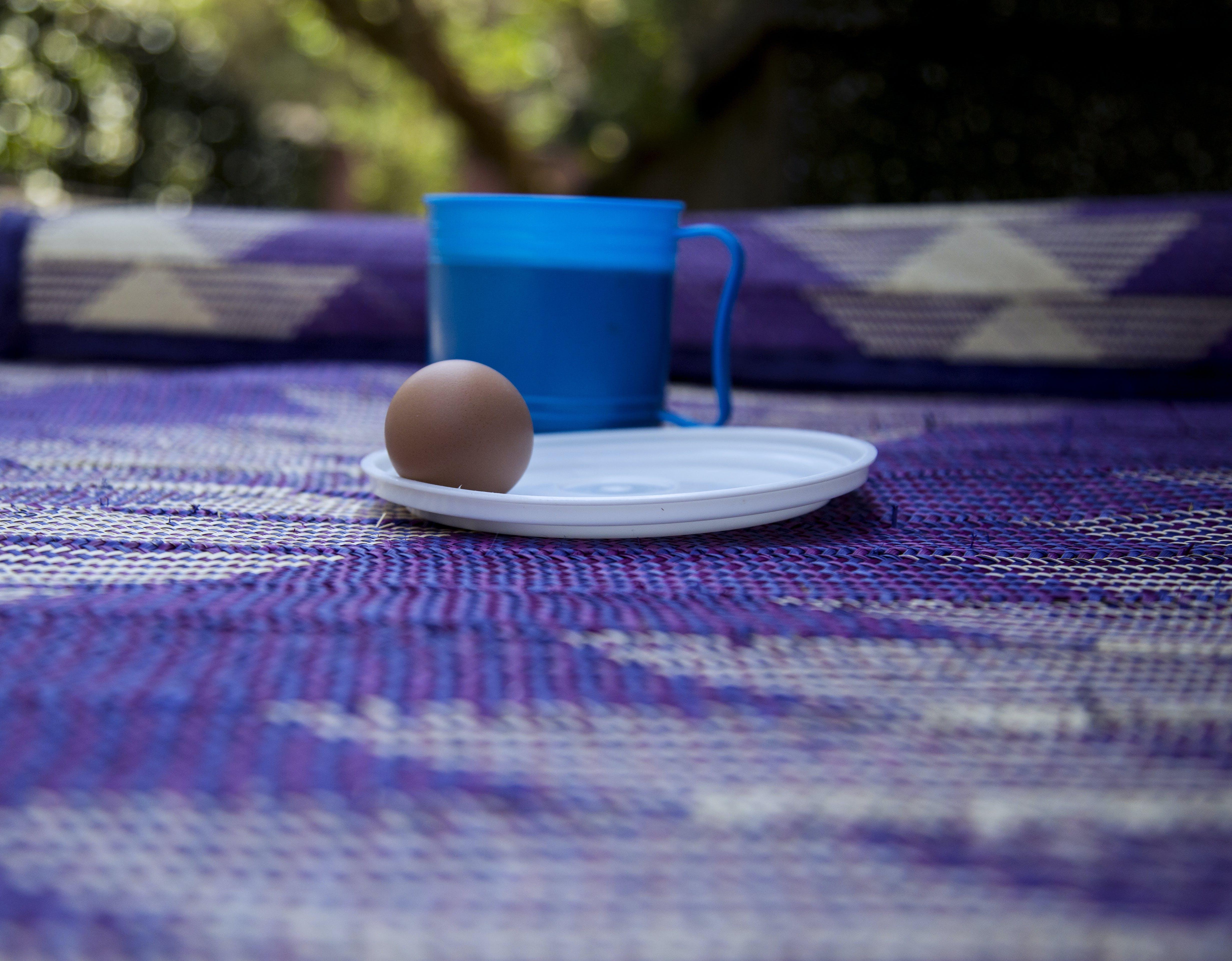 Free stock photo of africa, boiled egg, breakfast, mat
