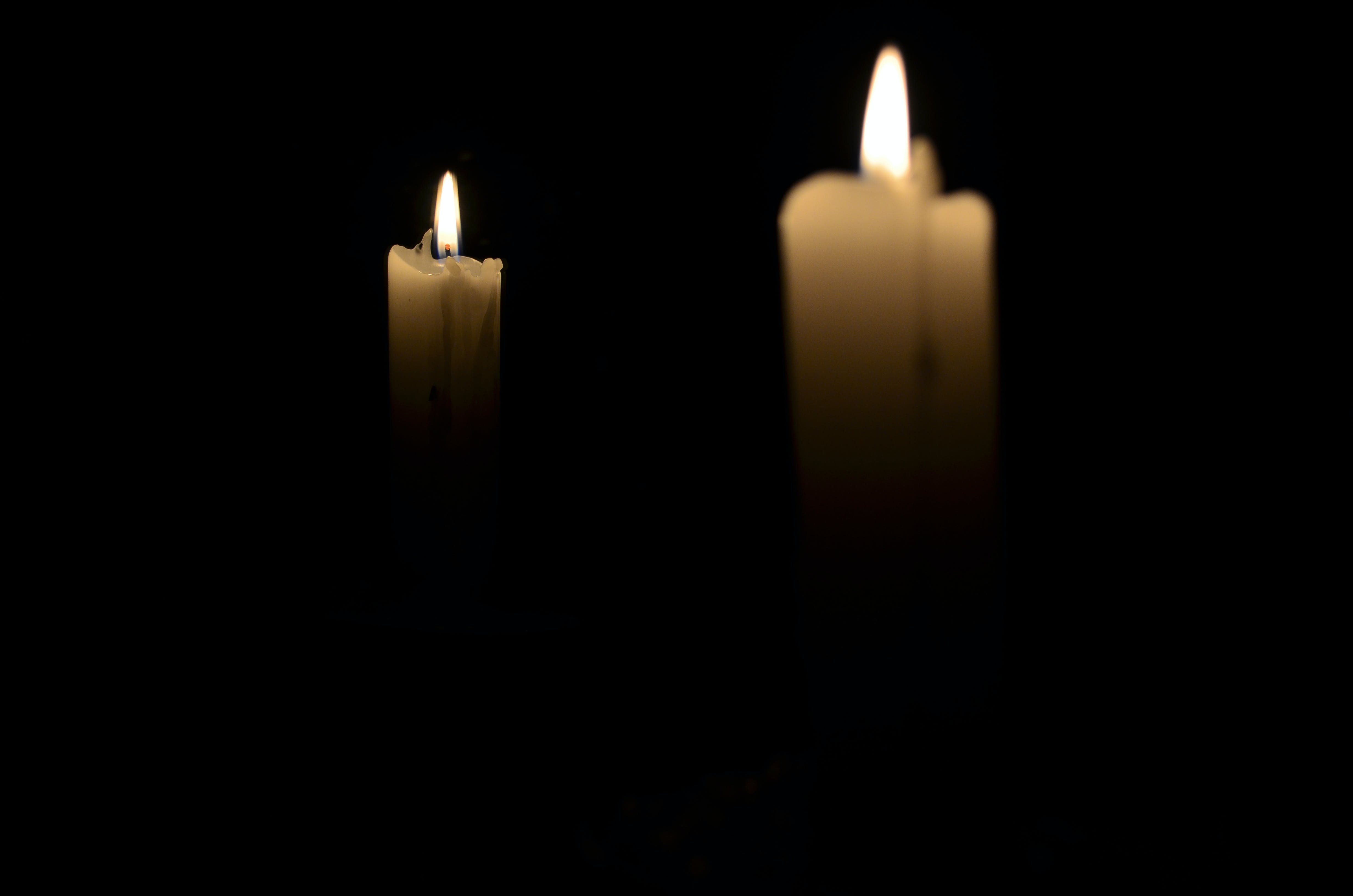 Free stock photo of bokeh, candlelight, candles, dark room