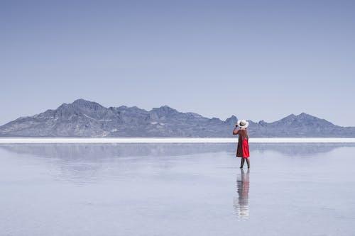 ビュー, ポージング, モデル, ロッキー山脈の無料の写真素材