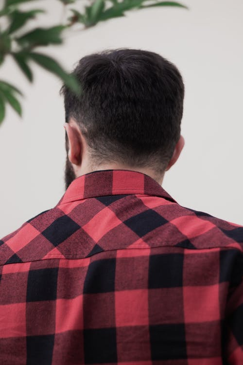 Immagine gratuita di camicia a quadri, primo piano, ritratto, rosso