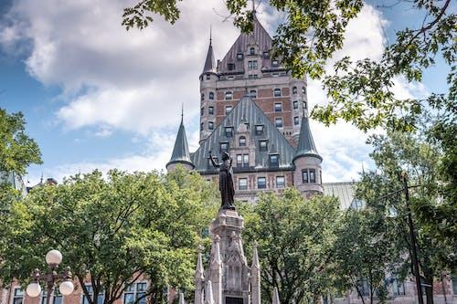 Fotobanka sbezplatnými fotkami na tému hrad, Kanada, quebec mesto, rozprávka