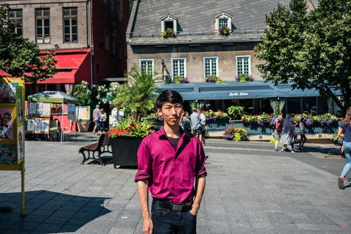Kostenloses Stock Foto zu architektur, asiatische modell, asiatischer mann, augen