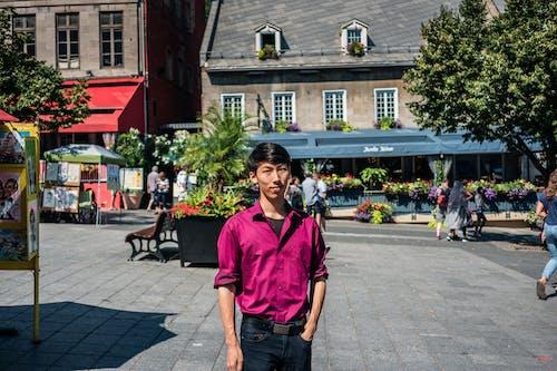 Fotobanka sbezplatnými fotkami na tému architektúra, asijský model, chlap, človek