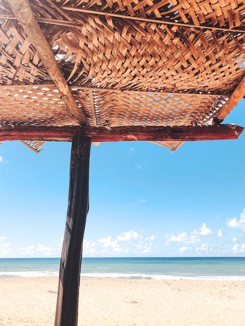 barışçıl, bulutlar, deniz, deniz kenarı içeren Ücretsiz stok fotoğraf