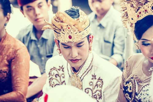 Foto d'estoc gratuïta de asiàtics, boda, bonic, celebració