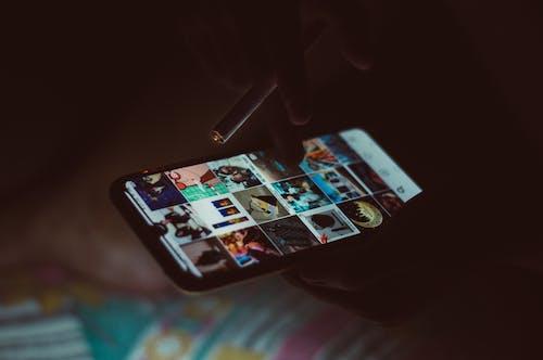 Ingyenes stockfotó app, beltéri, cigaretta, digitális témában