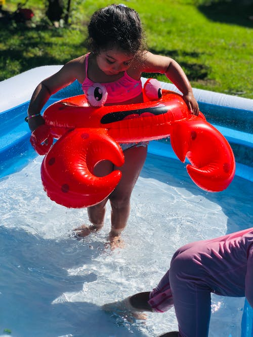 Free stock photo of kids, pool, summer, swimming