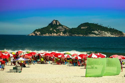 ビーチ, ブラジル, リオ, 夏の無料の写真素材