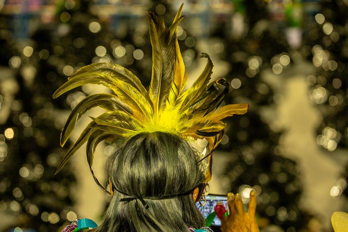 carnaval, costume, déguisement