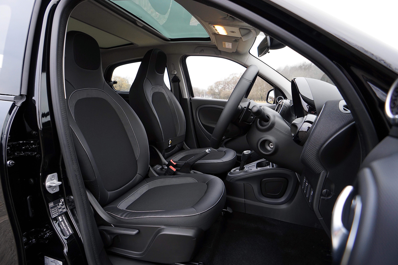Opened Black Door of Vehicle