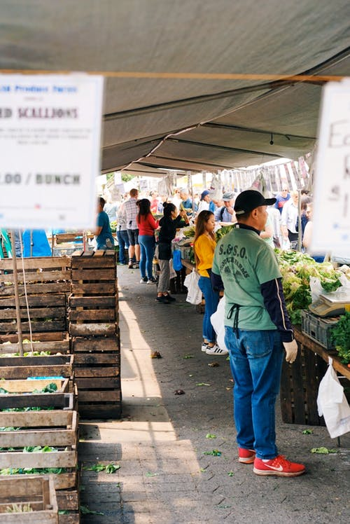 Free stock photo of city market, farmers market, new york, new york city