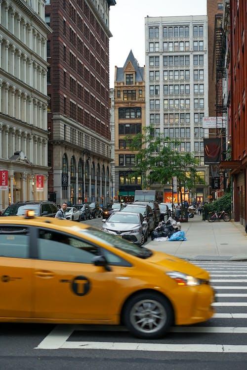 Ảnh lưu trữ miễn phí về Newyork, nyc, taxi màu vàng, thành phố New York