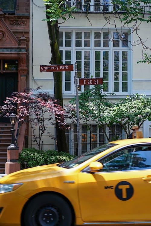 Ảnh lưu trữ miễn phí về nyc, taxi màu vàng