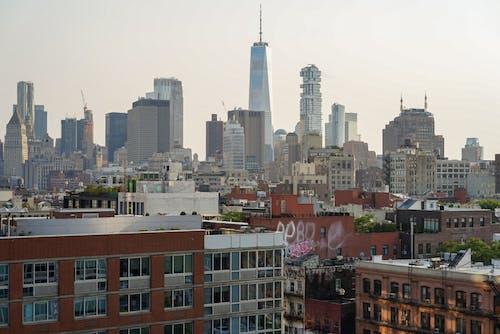 Ảnh lưu trữ miễn phí về các tòa nhà, cảnh quan thành phố, một trung tâm thương mại thế giới, Newyork