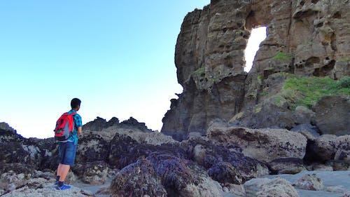 doğada güzellik, plaj, tatil, yaz içeren Ücretsiz stok fotoğraf