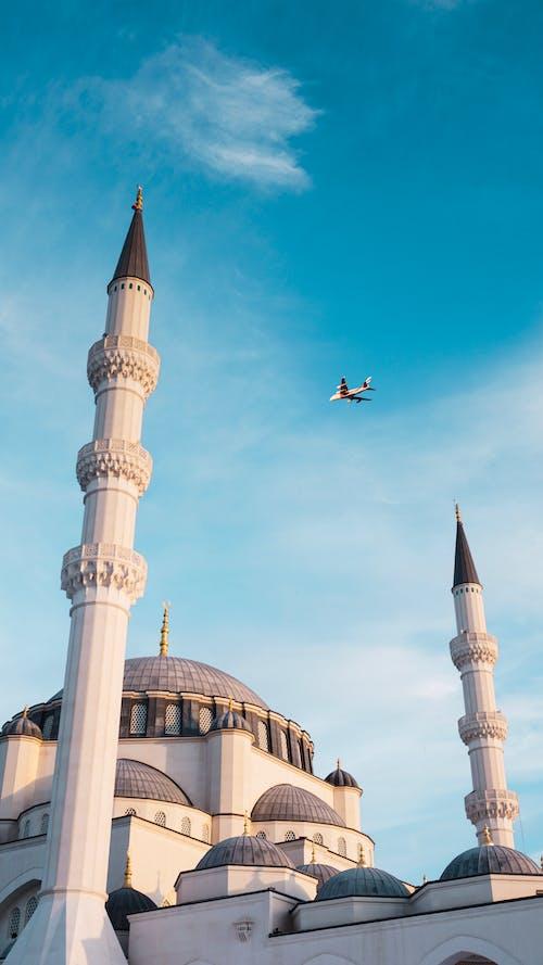 Základová fotografie zdarma na téma architektura, budova, denní světlo, dopravní letoun