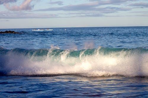 Δωρεάν στοκ φωτογραφιών με καγιάκ, κανό, κύμα παραλίας, παραλία