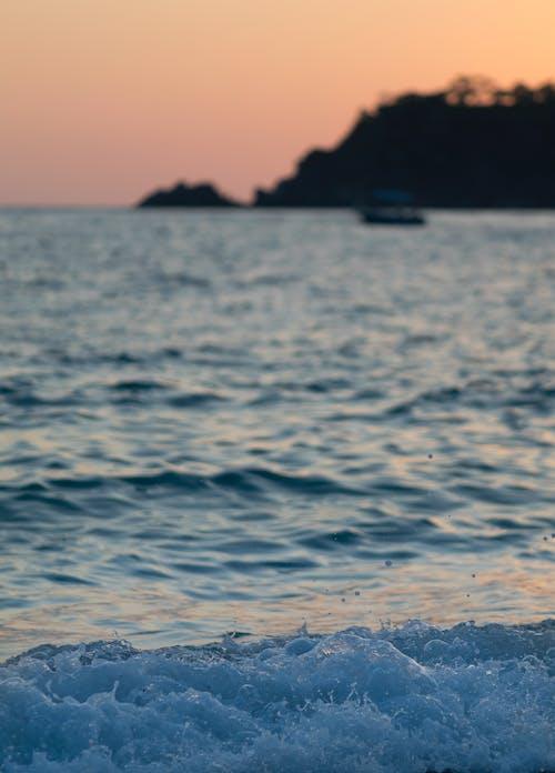 Ilmainen kuvapankkikuva tunnisteilla aalto, auringonlasku, auringonnousu, avaruus
