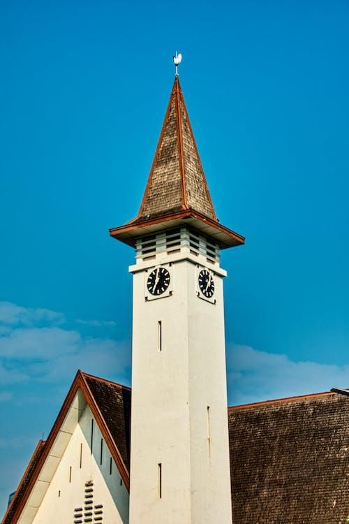 Антикварный, архитектура, башня