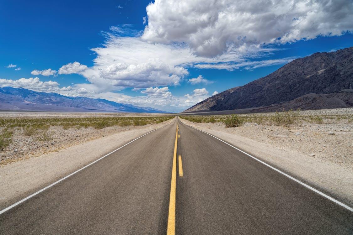 arido, asfalto, deserto