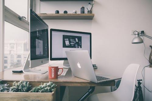 Fotos de stock gratuitas de adentro, apartamento, apple, asiento