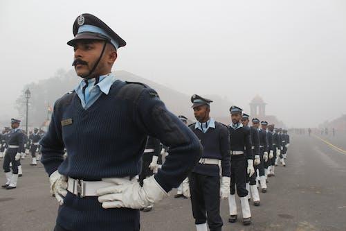 Imagine de stoc gratuită din albastru marin, armată, armata indiană, armata uniformă