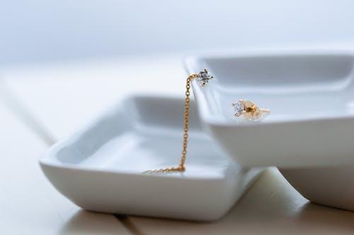 Free stock photo of diamonds, Goldstof design, jewellery, natural lighting