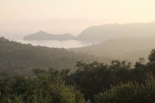 Fotobanka sbezplatnými fotkami na tému corfu, Grécko, hora, krajina