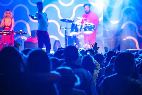 Gratis lagerfoto af koncert, show, smartphone