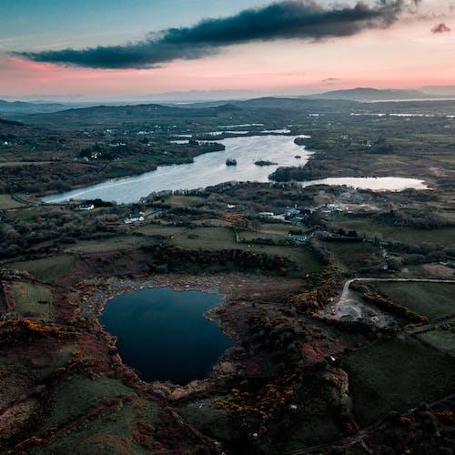 Darmowe zdjęcie z galerii z attymass, chmury, irlandia, jezioro