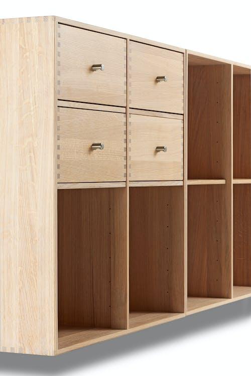 Free stock photo of bookcase, hardwood, knob, office