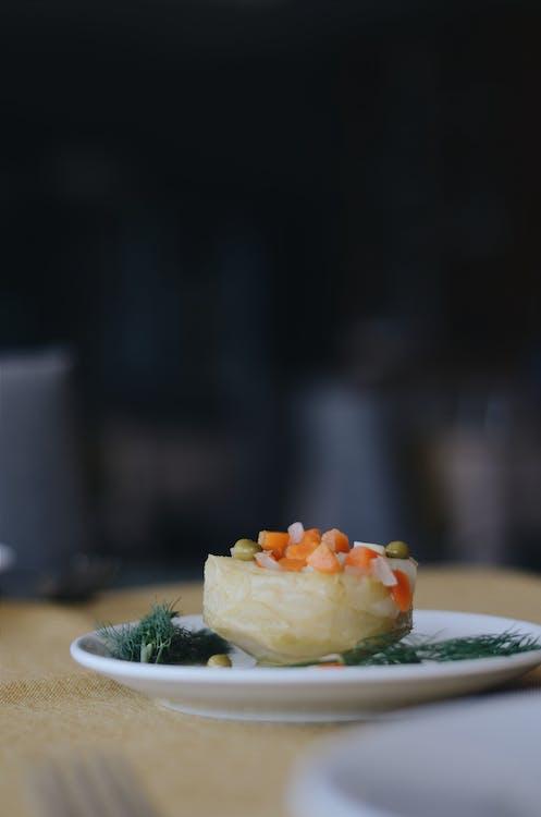Epikur, fotografi makanan, hidangan