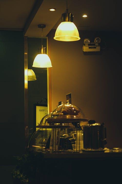 biji kopi, cahaya, kopi