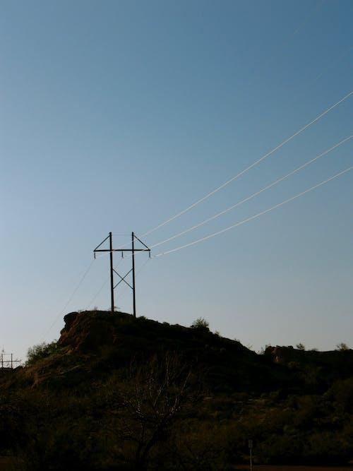 Foto stok gratis Arizona, jalur listrik, jurang