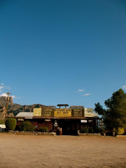 Foto stok gratis Arizona, kota kecil, langit biru