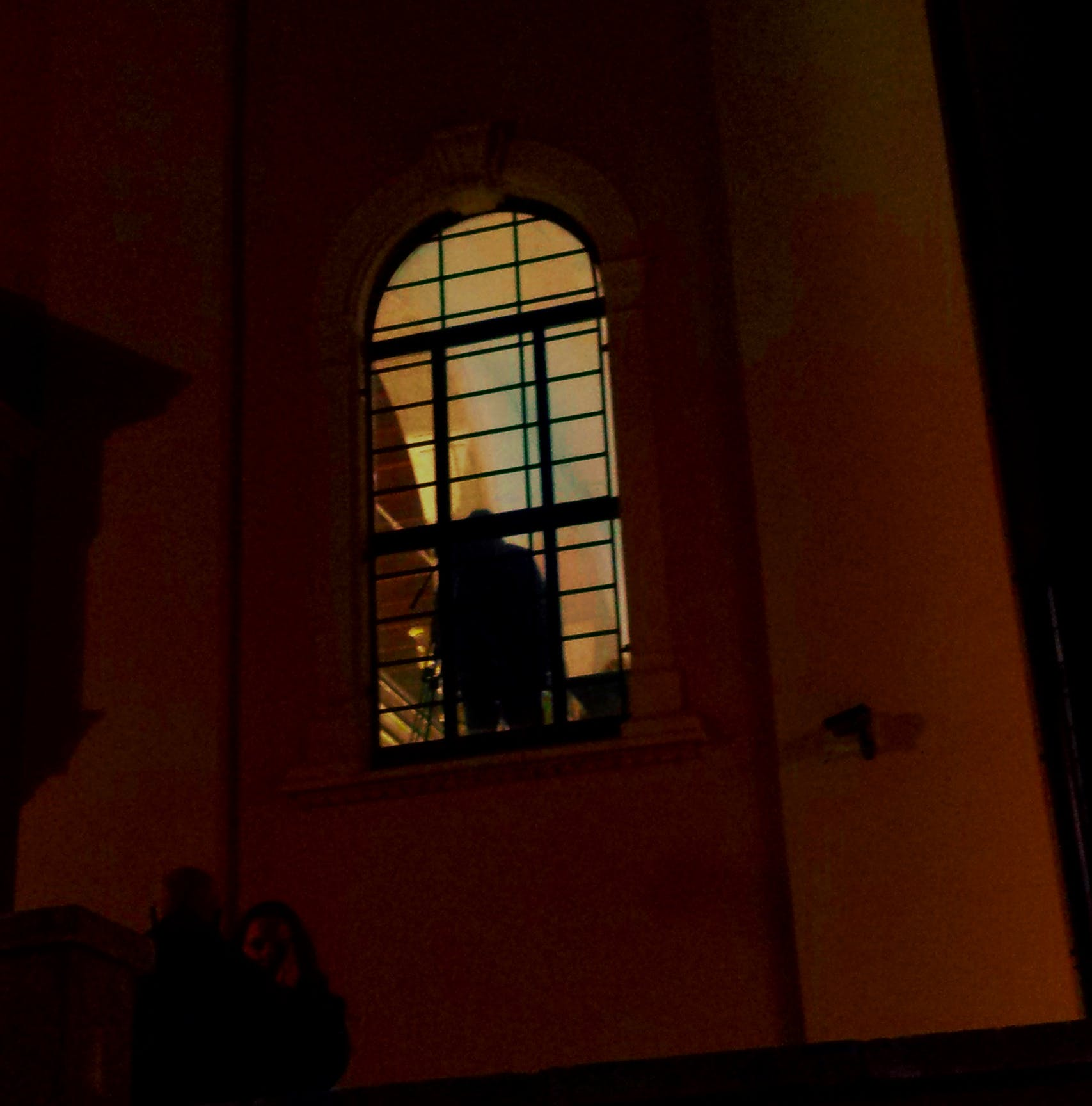 Free stock photo of night window