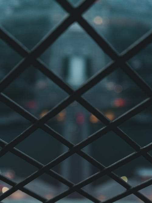 Close-Up Photo of Chain-link Fence