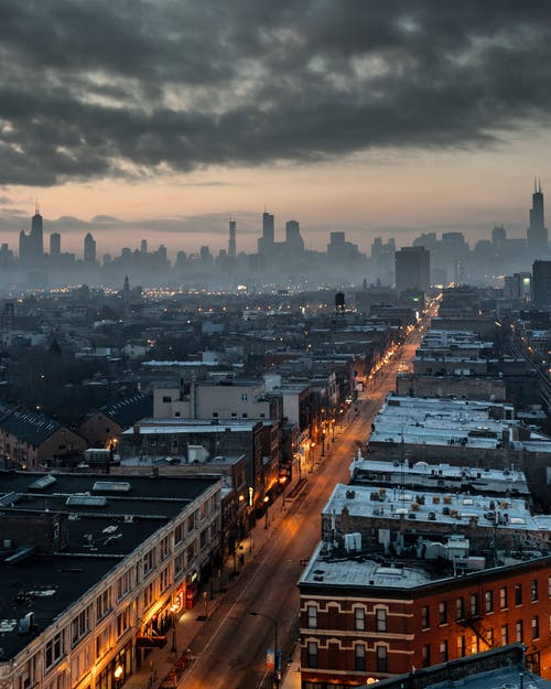 Δωρεάν στοκ φωτογραφιών με απόγευμα, αρχιτεκτονική, αστικός, αυγή