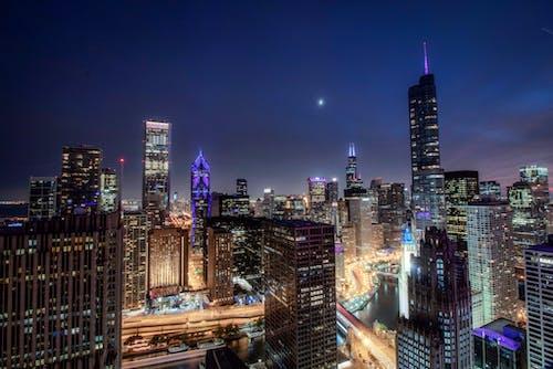 城市, 塔, 天際線, 市中心 的 免費圖庫相片