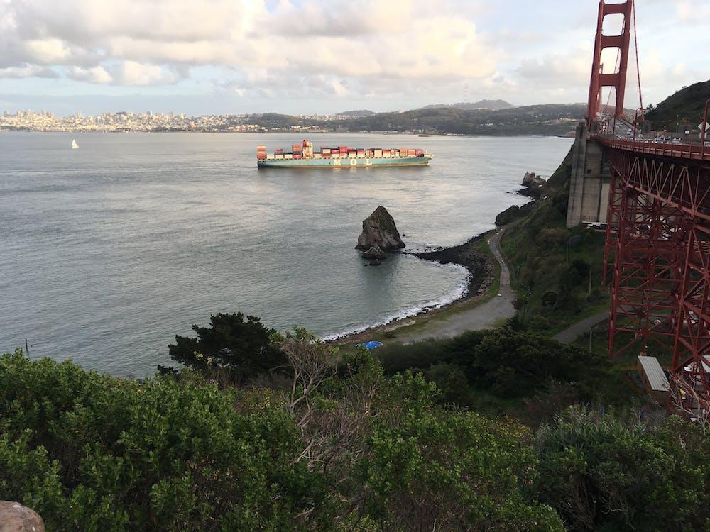 Golden Gate híd, jacht