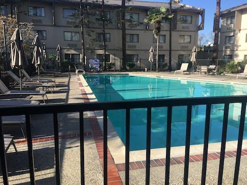 Free stock photo of hotel, pool