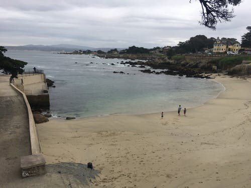 Free stock photo of beach, rocks