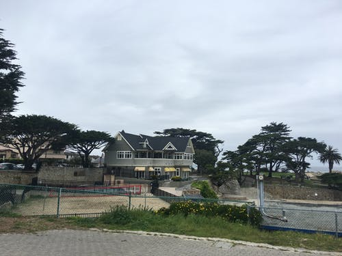 Free stock photo of beach, houses